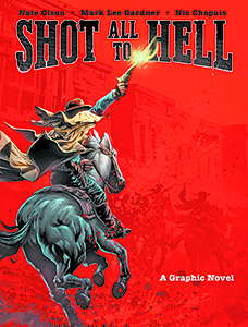 The cover of the graphic novel released in September.